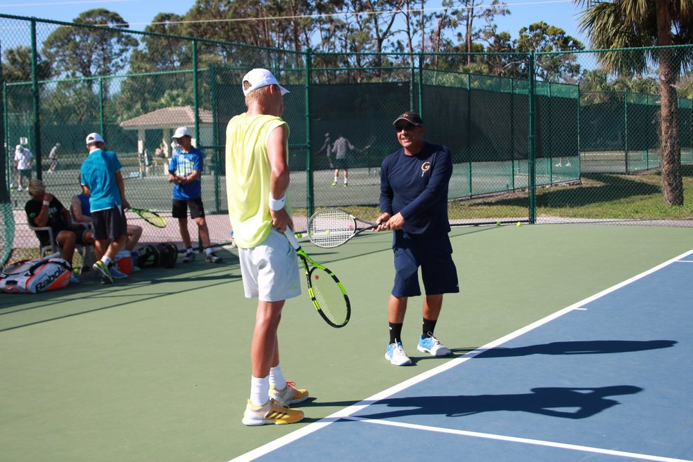 DEDICATION - Dedicated to the intense training of junior and professional tennis players, our multi-lingual coaching staff has the patience and understanding required to motivate and develop players of different styles, levels and personalities.