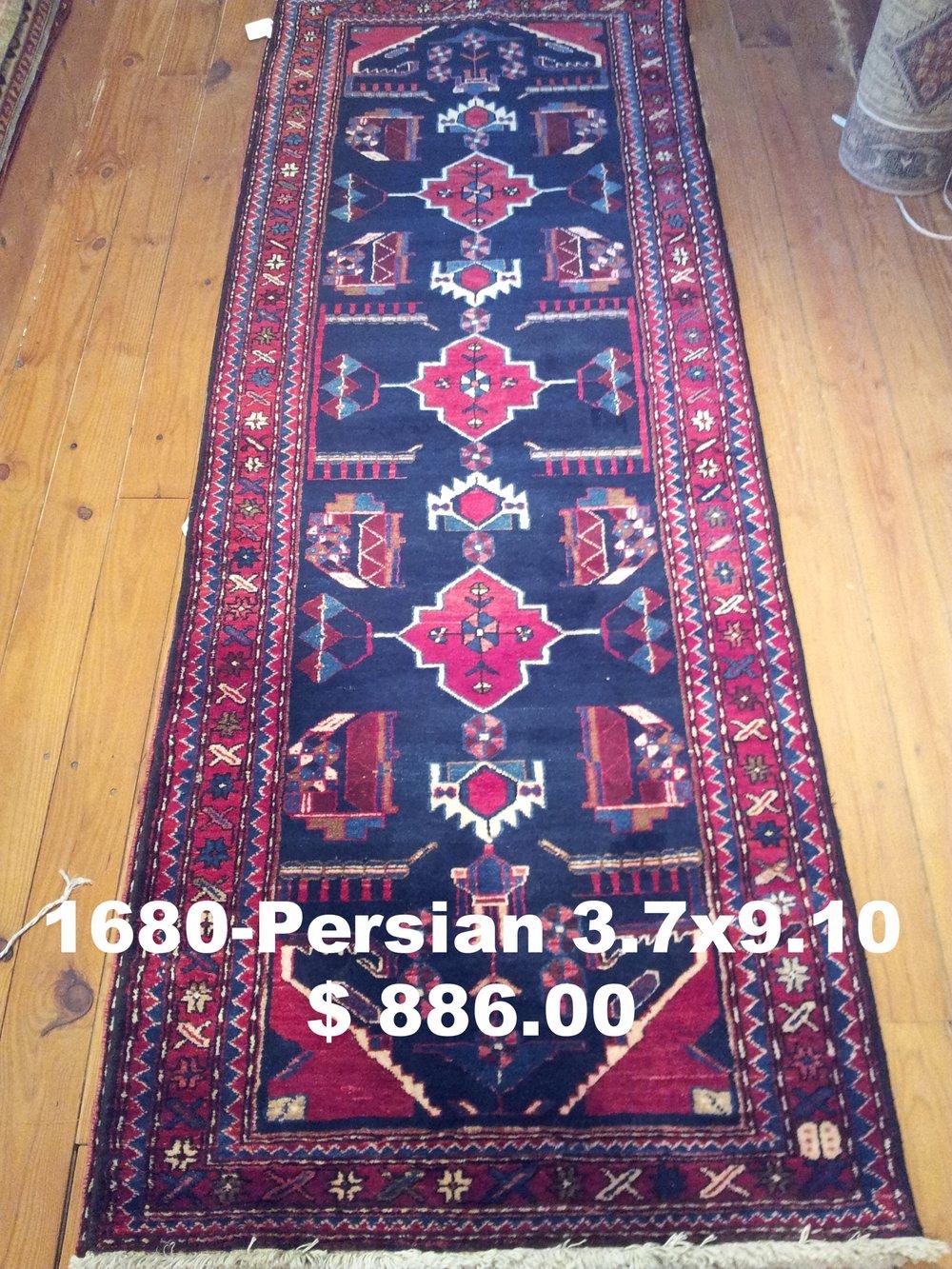 Persian 3.7x9.10  $1,386.00