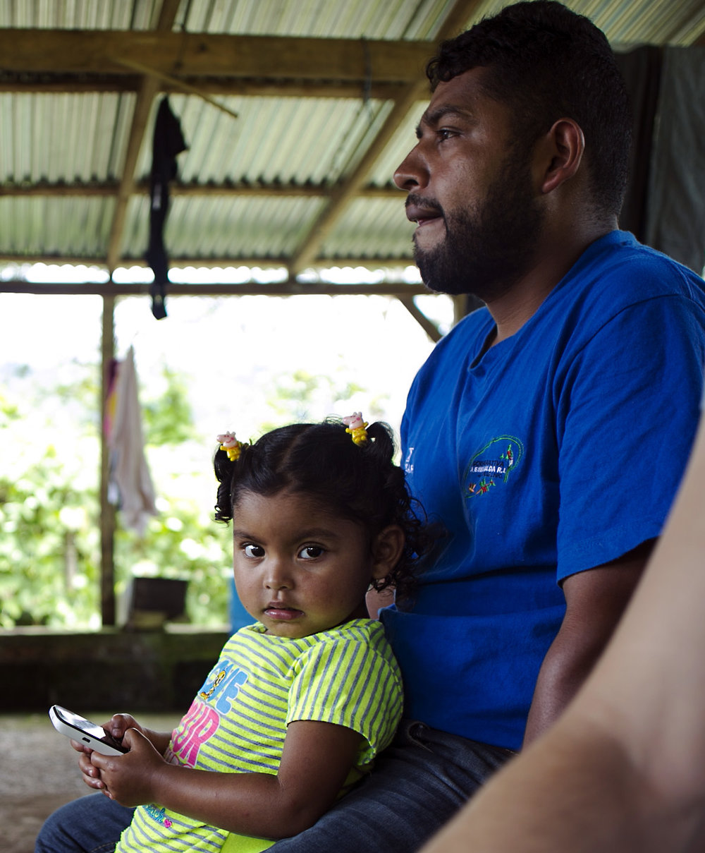 Jairo wants his daughter to receive the same educational opportunities he had.