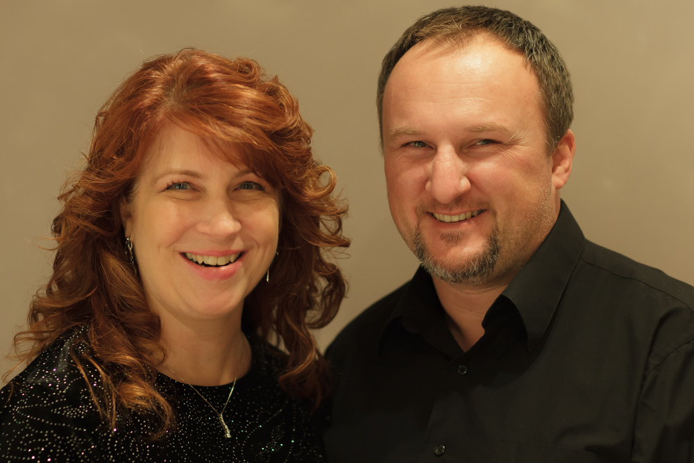 Owners Lydia and Jeff Galati.
