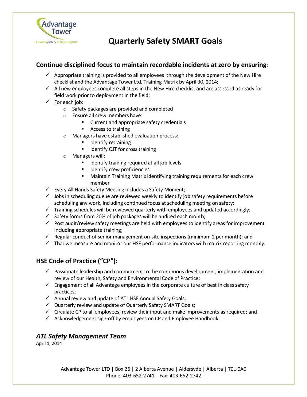 ATL Quarterly Safety SMART Goals April 1 2014.jpg