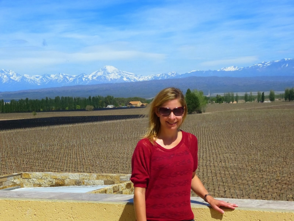 Visiting Catena in Mendoza, Argentina