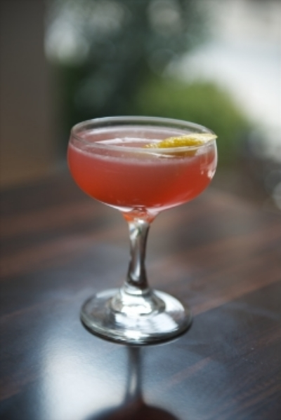 Pink on Pink Cocktail