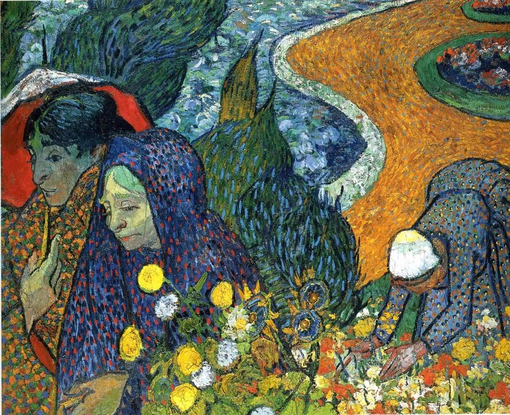 Memory of the Garden of Eden  by Vincent Van Gogh