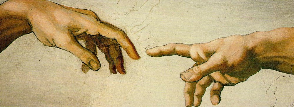 Creation of Adam by Michelangelo, ca. 1511