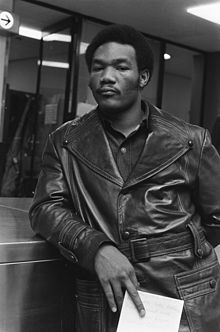 George Foreman in 1973.