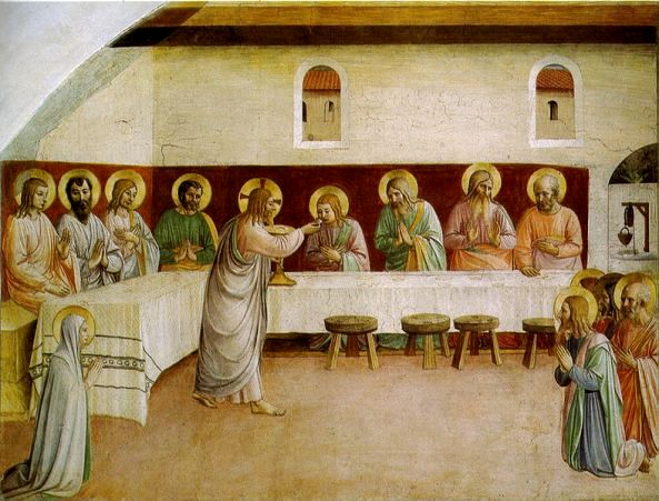 The Last Supper  by Fra Angelico