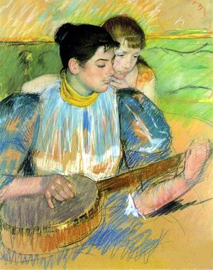 Mary Cassatt,  The Banjo Lesson , 1893