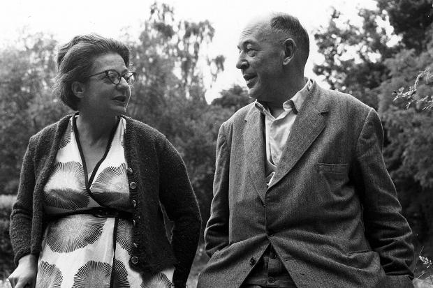C.S. Lewis and his wife and friend Joy.