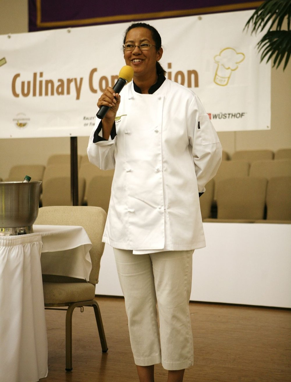 Chef Karla Lacey - Jr. Chef Central Kids Culinary Convention 2009