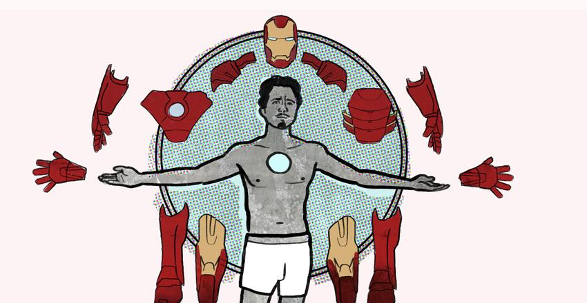 Tony Stark illustration by Cognitive Media