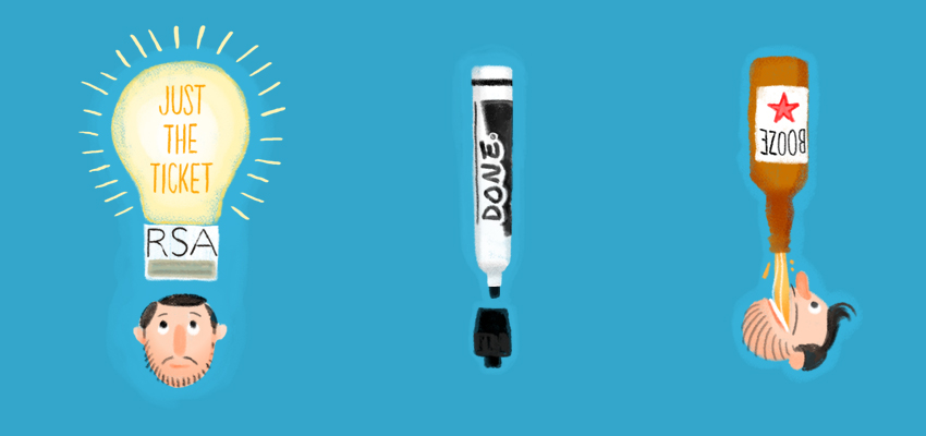 Light bulb as idea - illustration by Cognitive Media