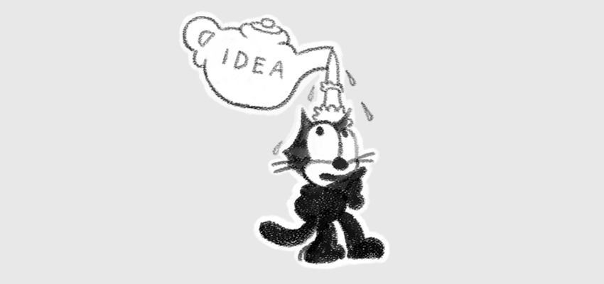 Felix the Cat - teapot of ideas
