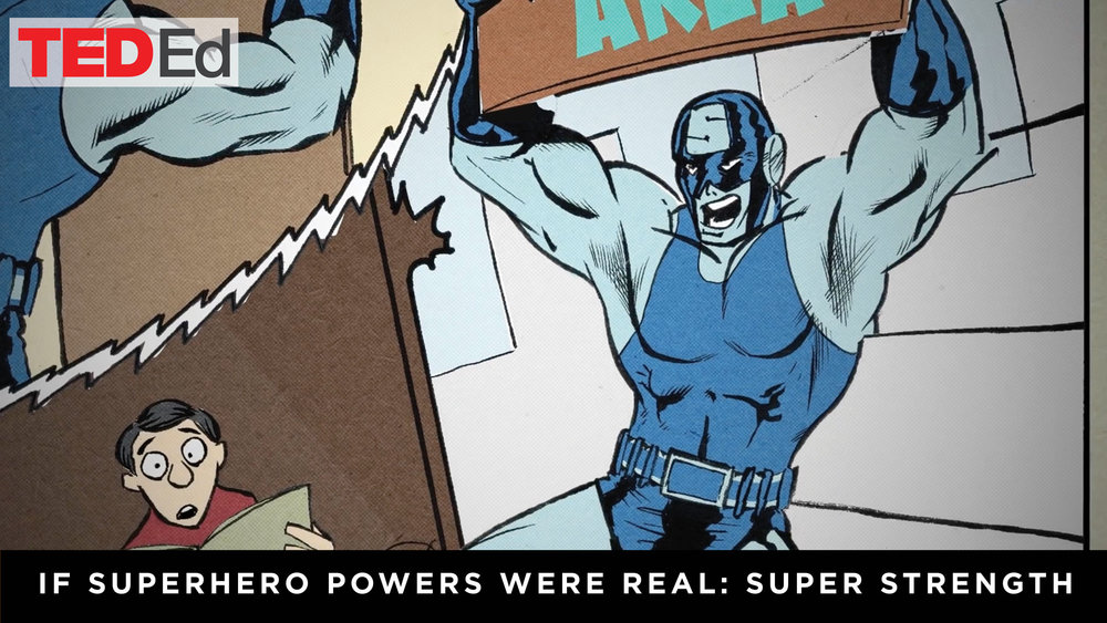 If Superhero powers were real: Super Strength — Cognitive
