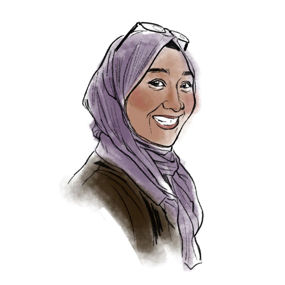 Cognitive illustrator Aggie Mardiyah