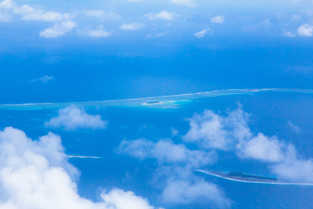 Funafuti Atoll, Tuvalu. Photo: Kew.
