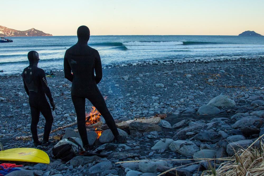 Pacific Northwest.Sea temperature: 37°F.