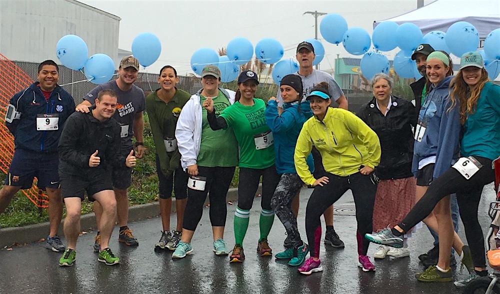 Members of Chetco Running Club at last year's Oktoberfest 5K in Brookings.