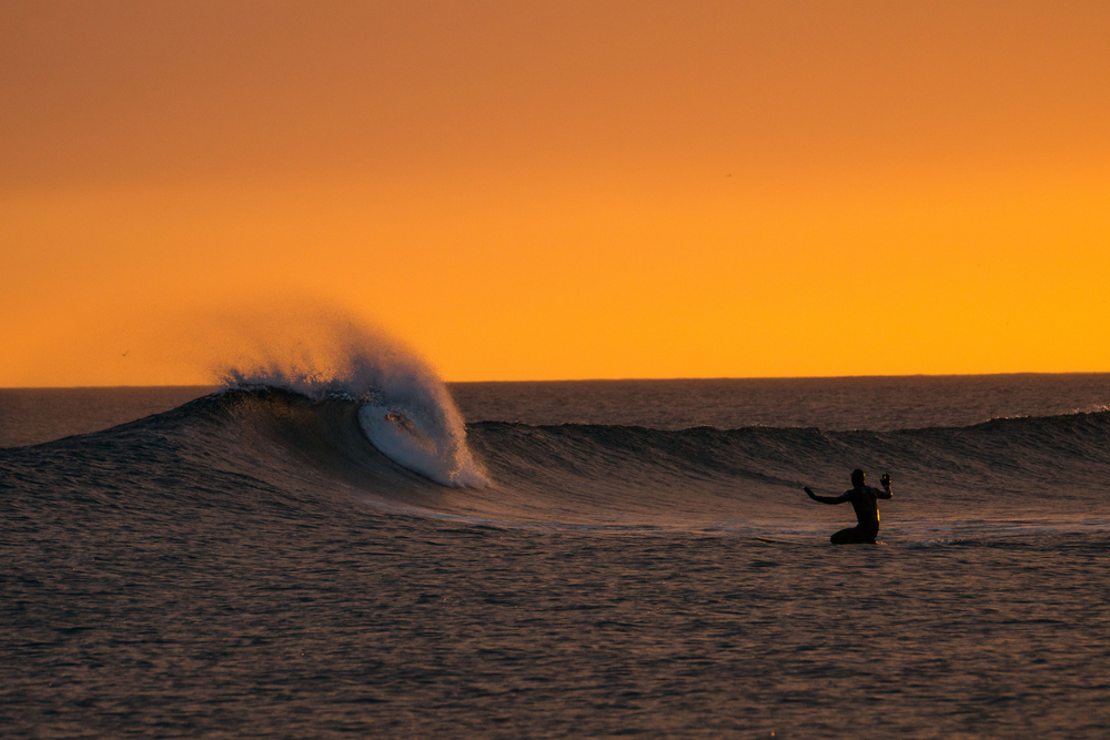 Midnight sun. Photo: Burkard/Massif.