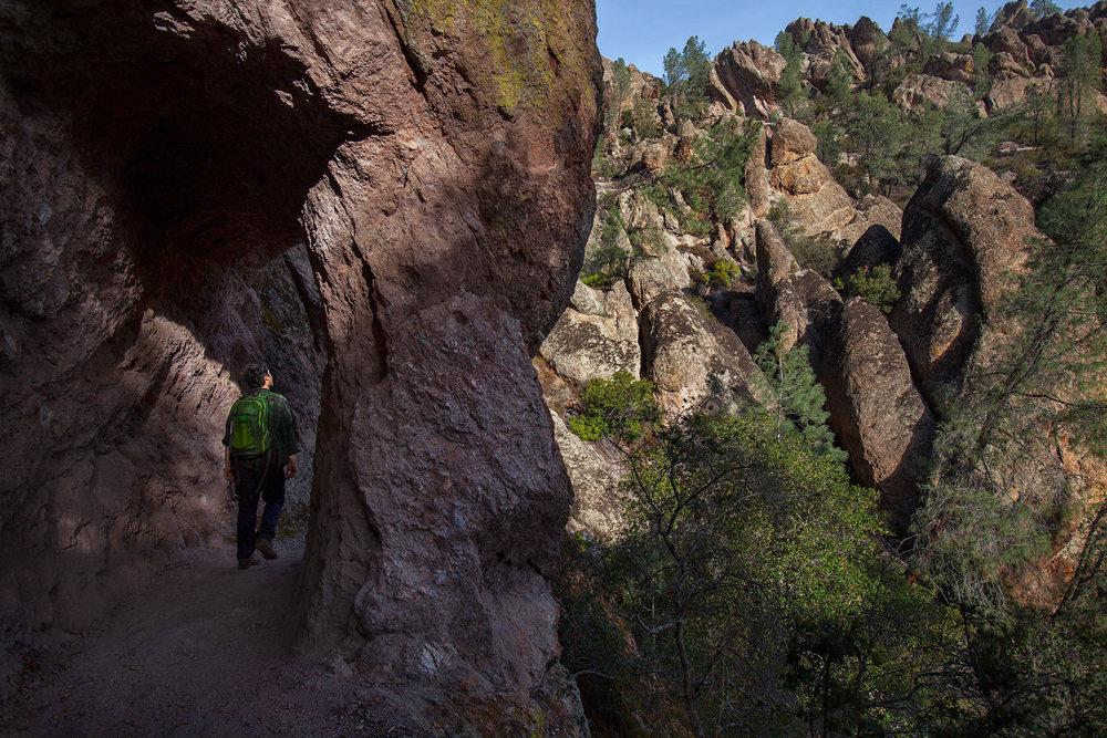 High Peaks trail.