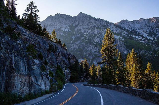 We're dreaming about mountains and road trips this Monday morning // from the archives // #tahoe #california #turnerfitch
