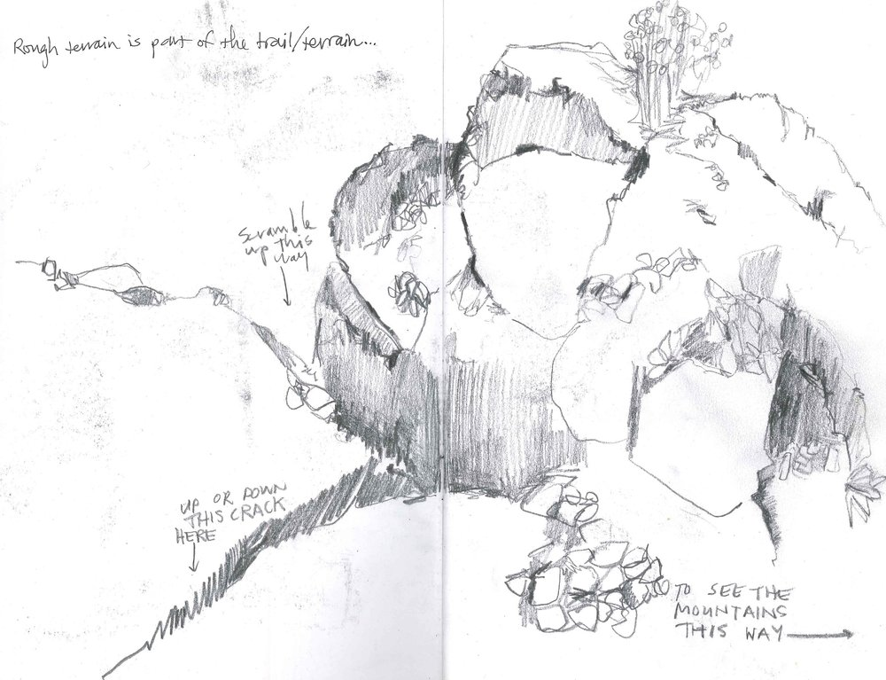 Seminole Boulder Map Sketch