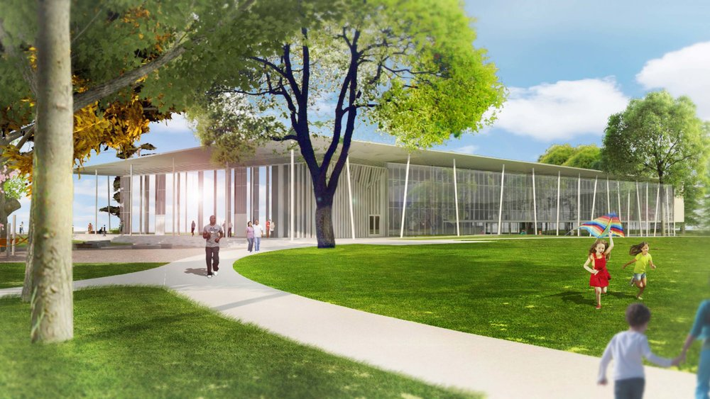 Northeast regional library rendering