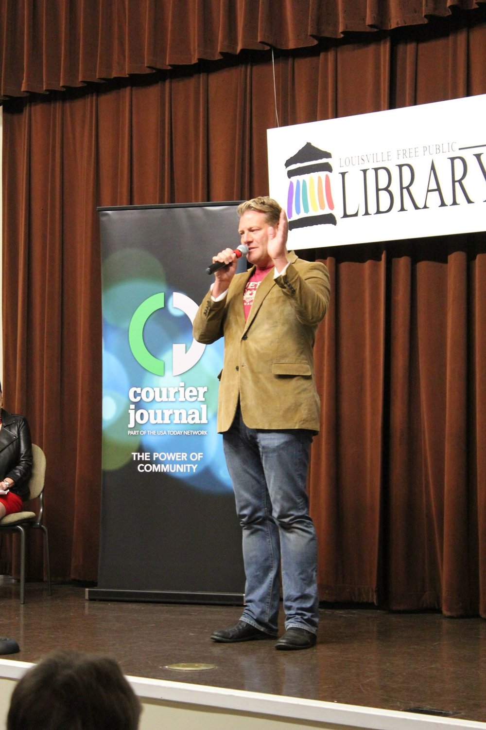 louisville Storytellers at the library