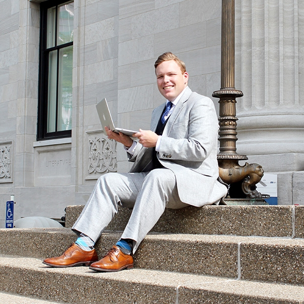 Sean Warwick, LFPL employee and Scholarship recipient. Read his story here.