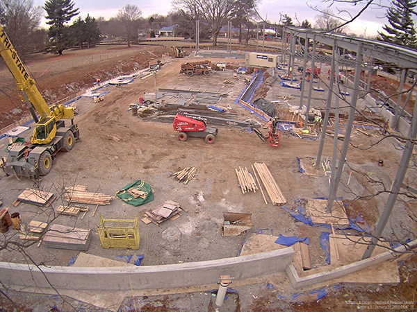 Construction is well under way on the  Northeast Regional Library . Construction is expected to complete in early 2019.