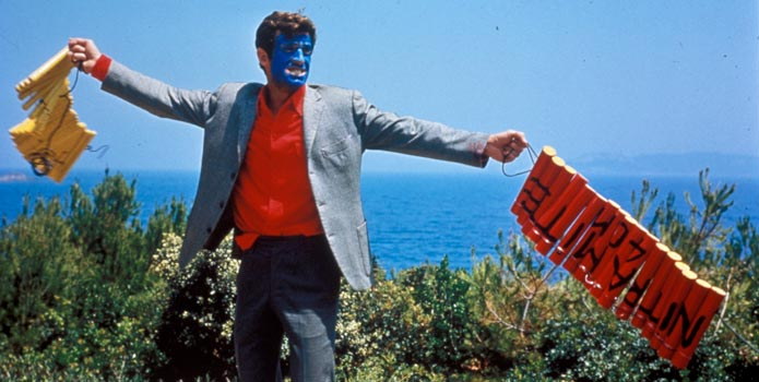 Pierrot le Fou, 1965, Jean-Luc Godard