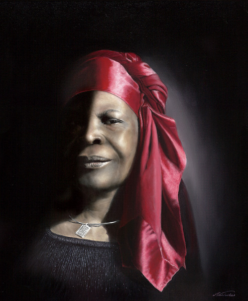 "Her Honor: 24"" x 20"" Oil on Canvas"