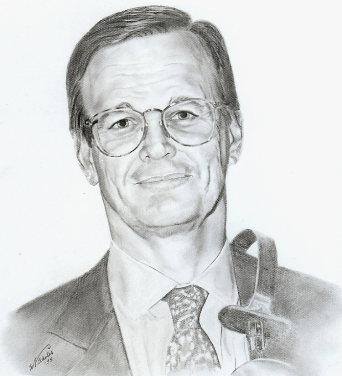 Mayo Doctor: Graphite on Paper