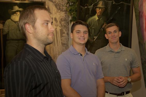 Robbie Spencer, Editor, Naples Herald, Robert Peia & Zack Leiner, PRZebra.