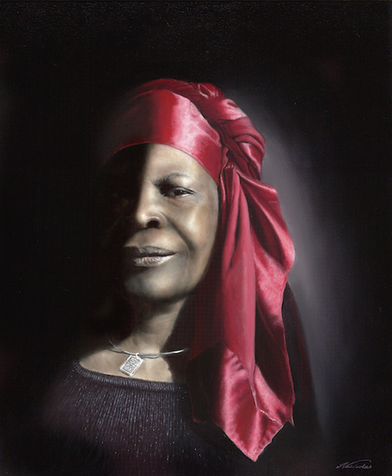 "Her Honor NFS - 24"" x 20"" Oil on Canvas  -  $15,000.00 to commission one for yourself or your loved one"