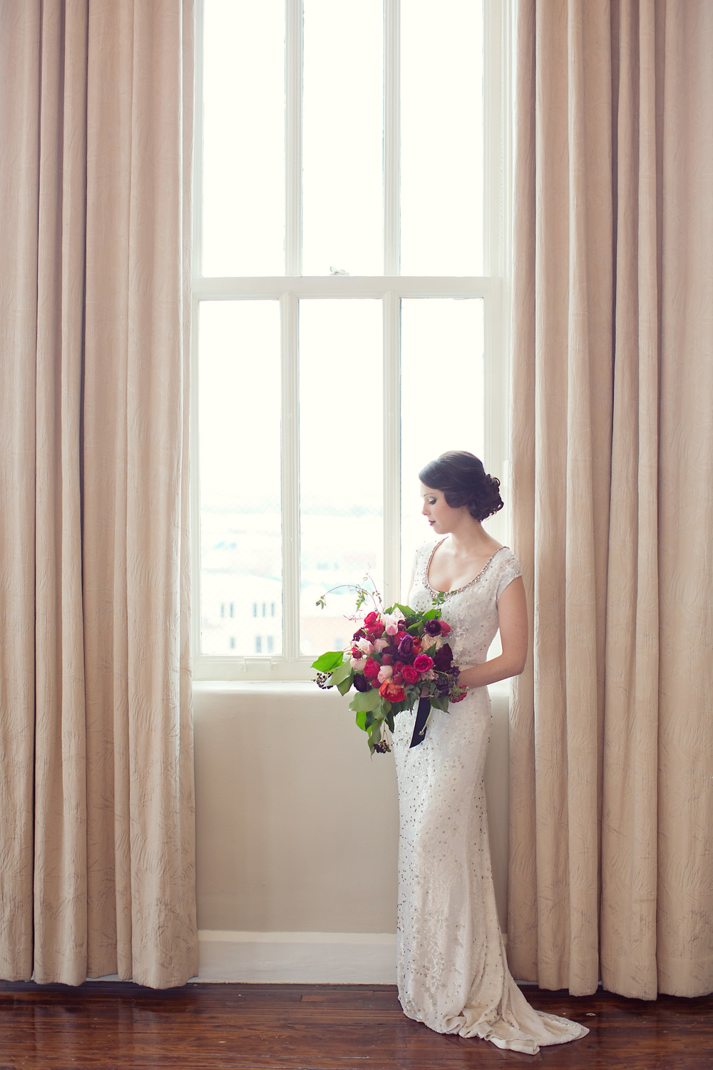 Italian Valentine | Bride by Window