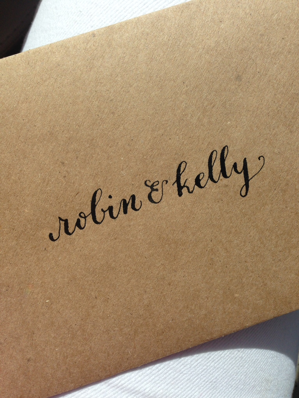Robin and Kelly | Natalie Grace Calligraphy Co.