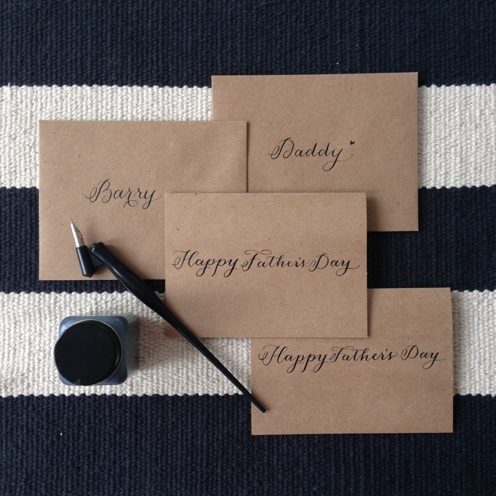 Father's Day Cards | Natalie Grace Calligraphy Co.