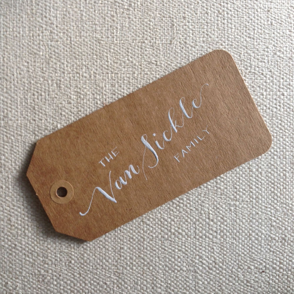Van Sickle | Natalie Grace Calligraphy Co.