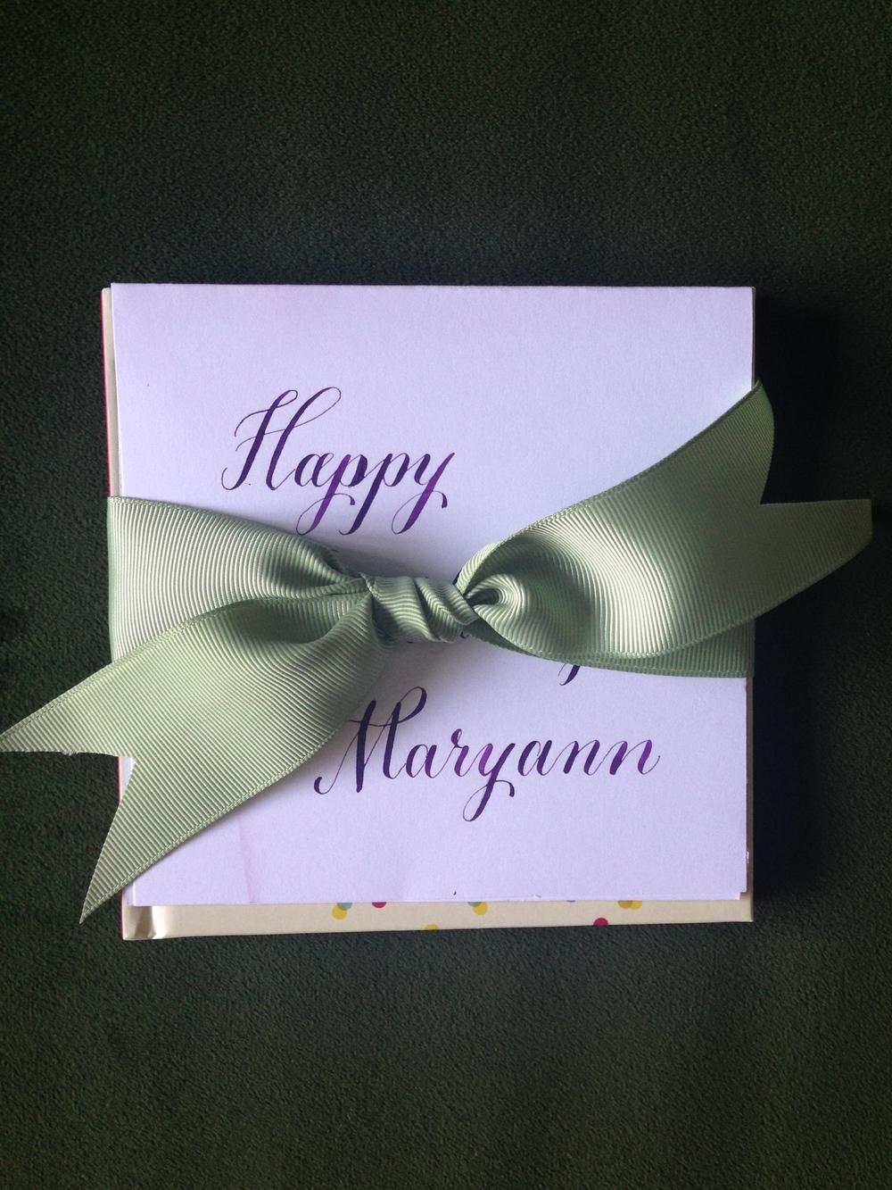 Maryann | Natalie Grace Calligraphy Co.