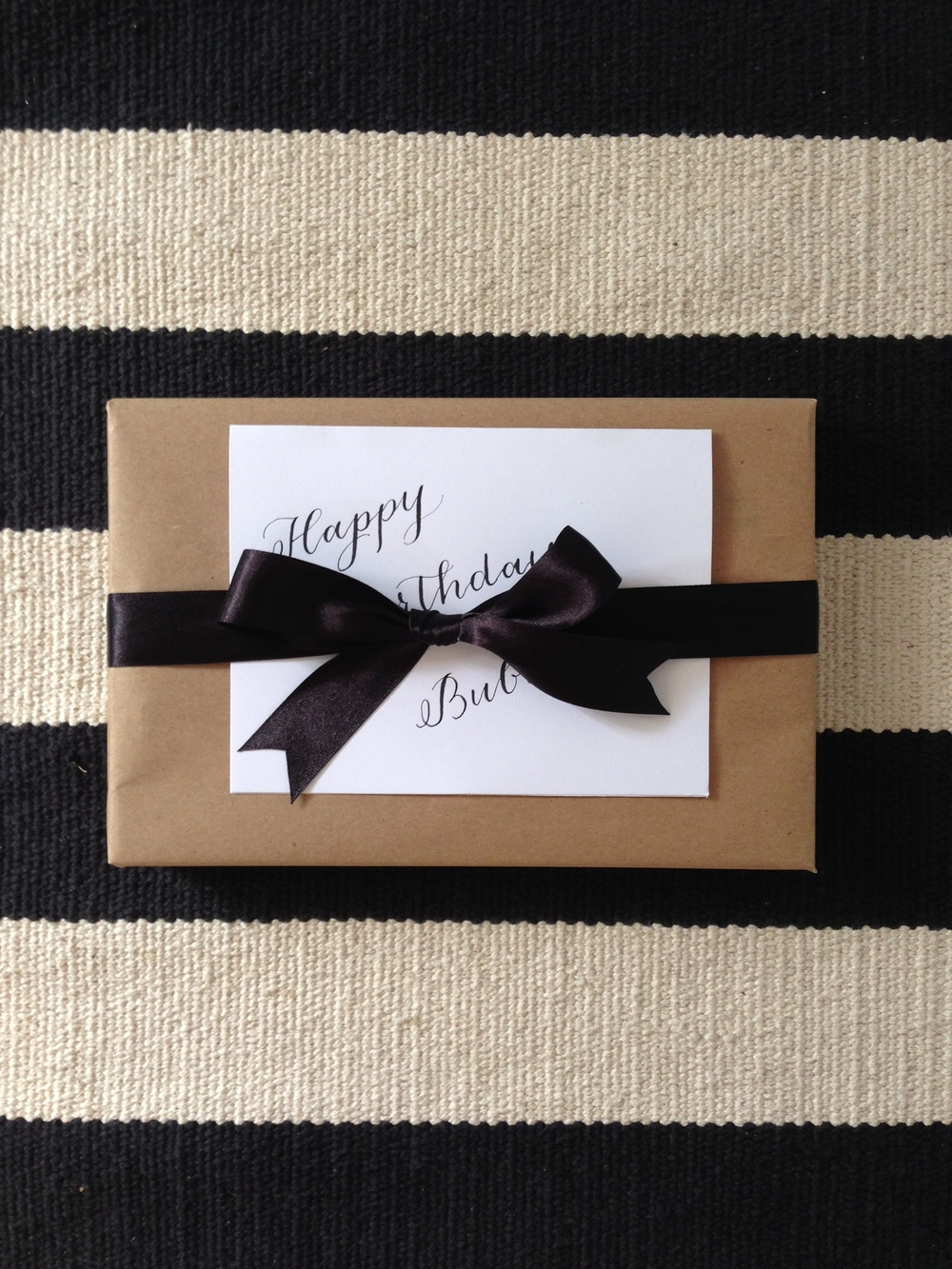 Bubba Gift | Natalie Grace Calligraphy Co.