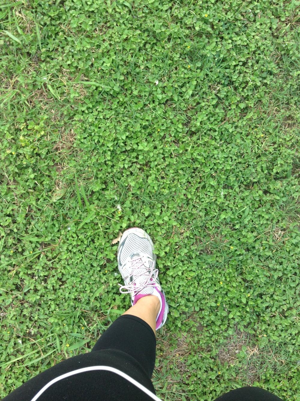 Walking to White Rock