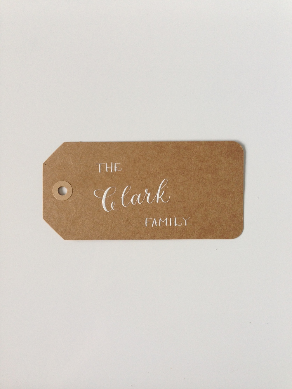 The Clark Family | Natalie Grace Calligraphy Co.