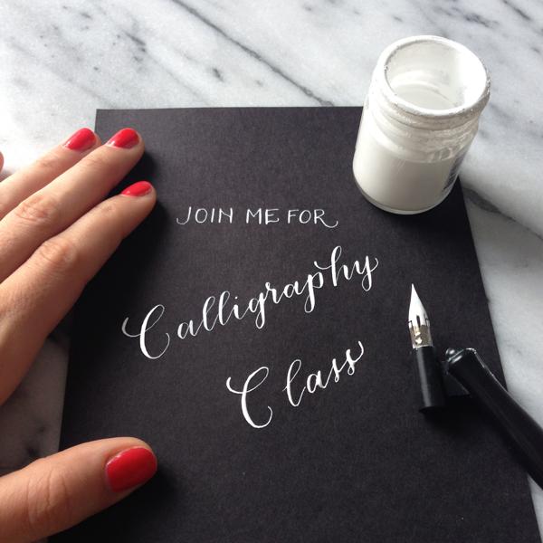 Class | Natalie Grace Calligraphy Co.
