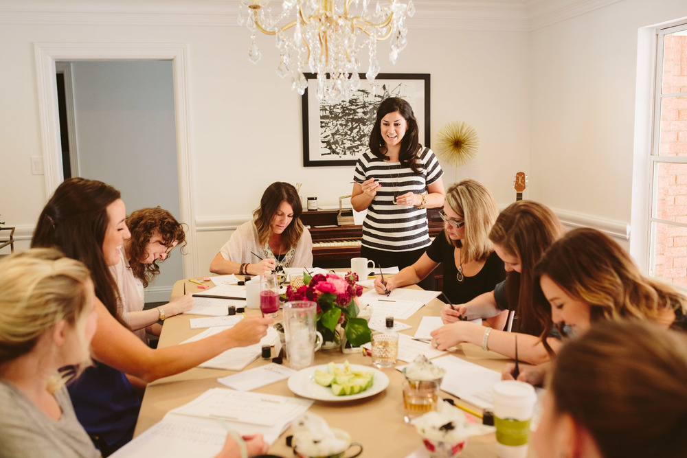 Instruction | Natalie Grace Calligraphy Class