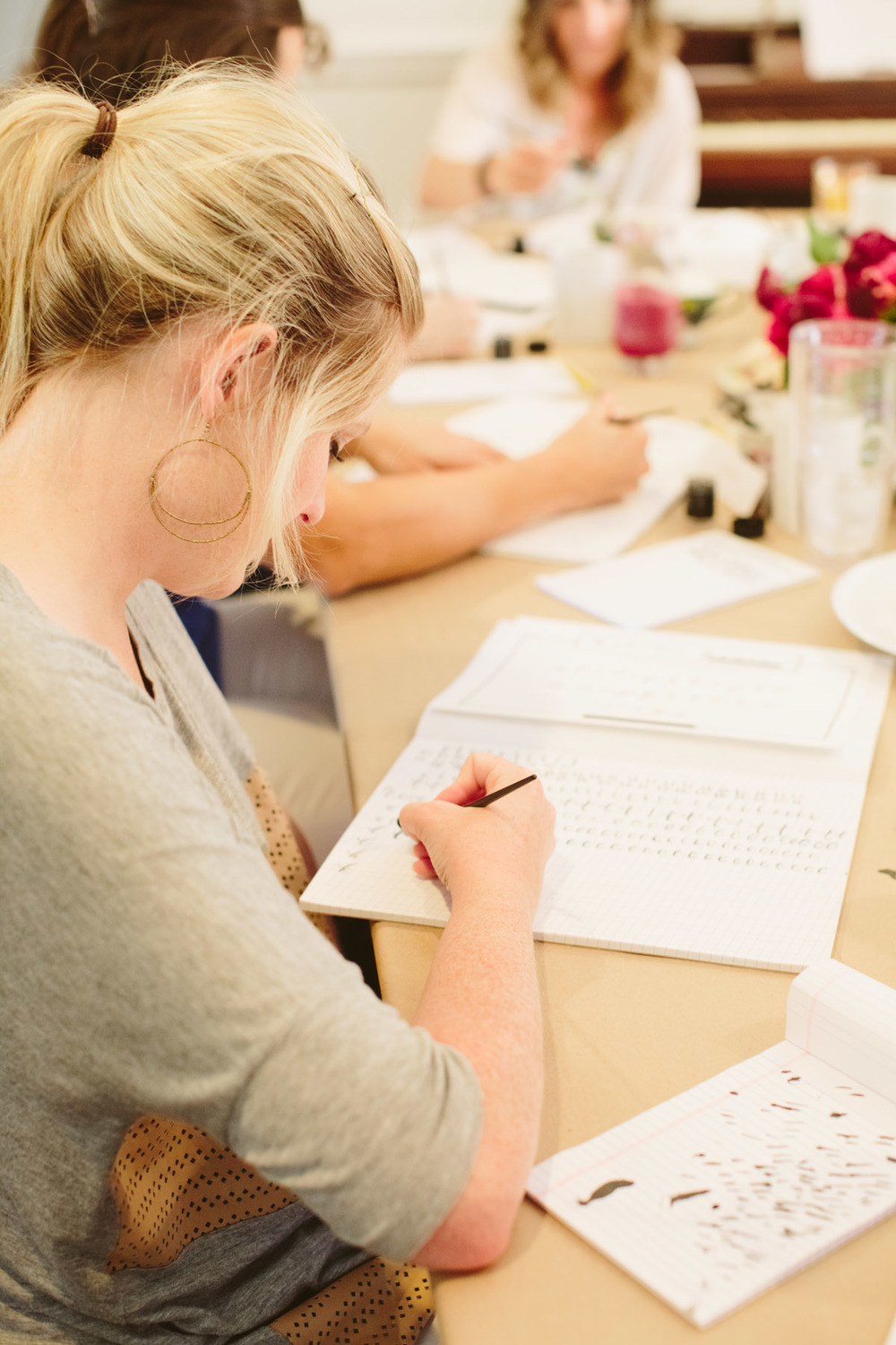 Kim | Natalie Grace Calligraphy Class