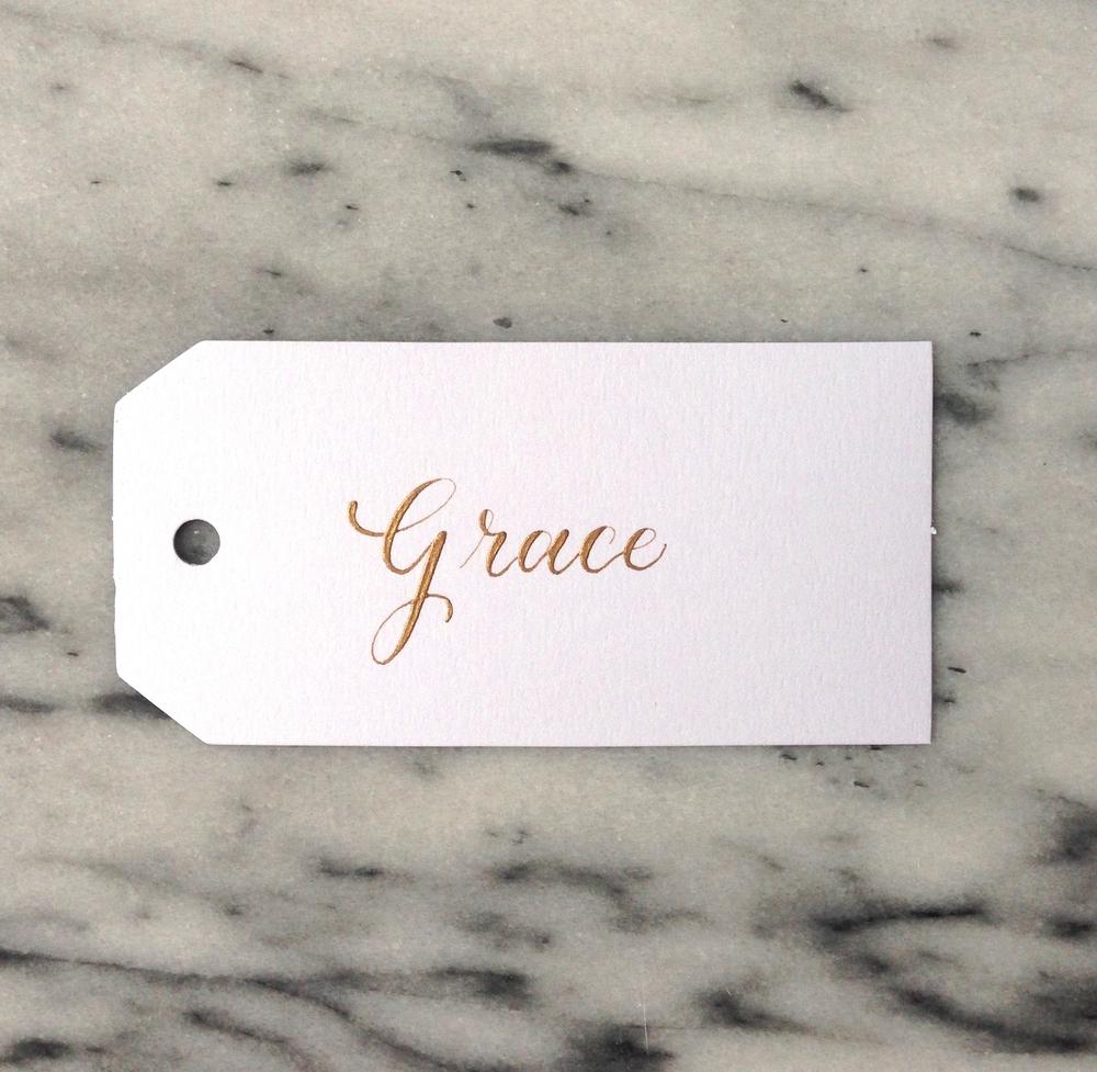 Grace | Natalie Grace Calligraphy Co.
