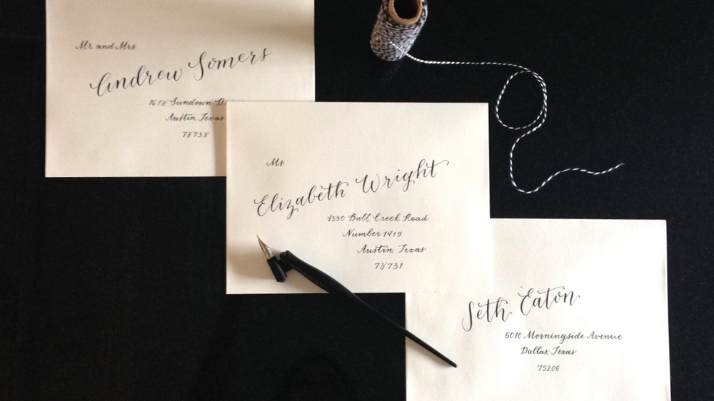 Elizabeth Wright | Natalie Grace Calligraphy Co.