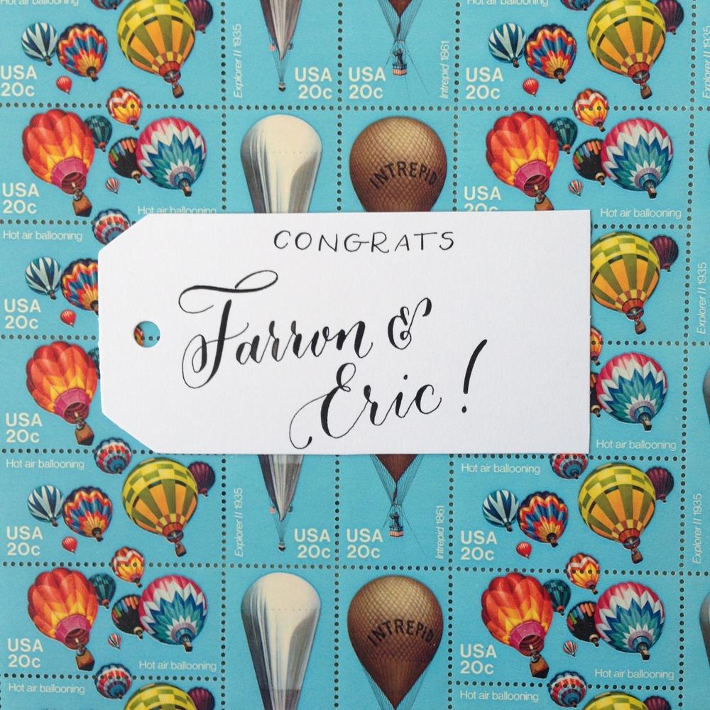 Farron & Eric | Natalie Grace Calligraphy Co.