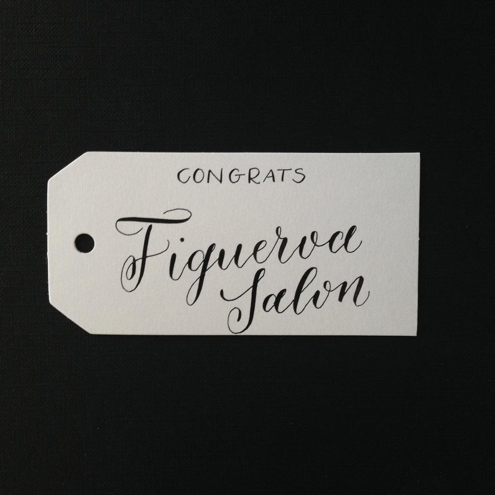 Figueroa Salon Natalie Grace Calligraphy Co.